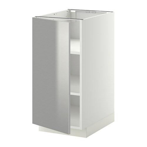Metod armario bajo cocina con baldas blanco grevsta ac - Ikea baldas cocina ...