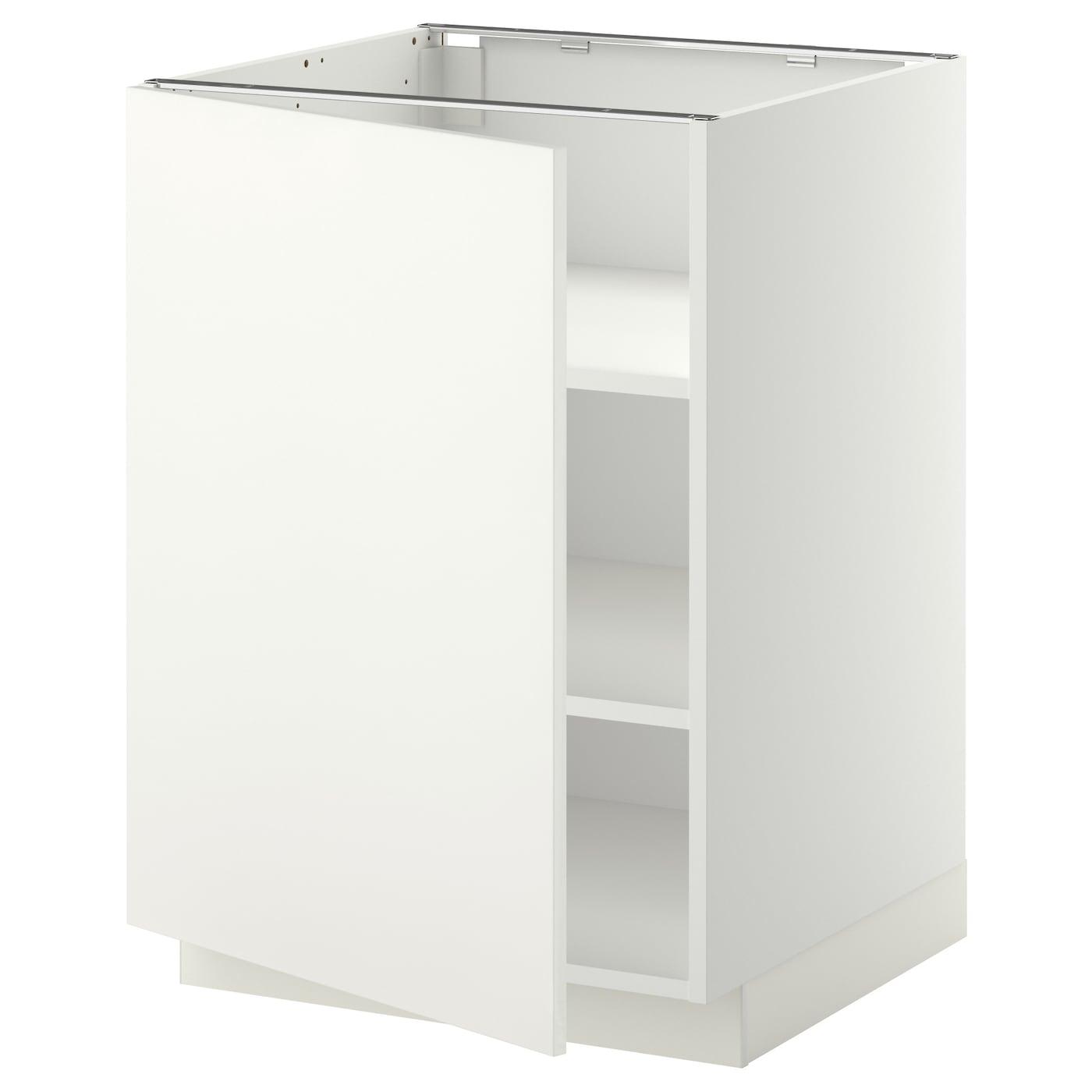 Metod armario bajo cocina con baldas blanco h ggeby blanco - Ikea baldas cocina ...