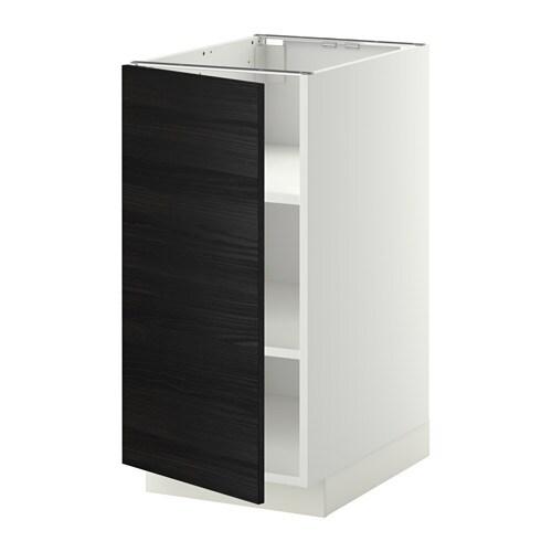 Metod armario bajo cocina con baldas blanco tingsryd - Ikea baldas cocina ...