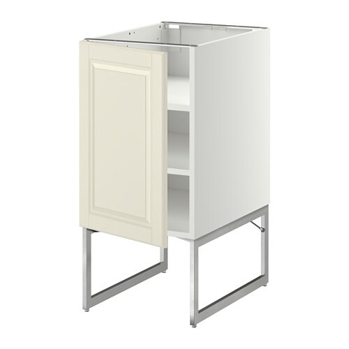 Metod armario bajo cocina con baldas blanco bodbyn - Ikea baldas cocina ...