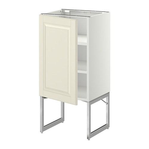 Metod armario bajo cocina con baldas blanco bodbyn - Cocina armario ikea ...