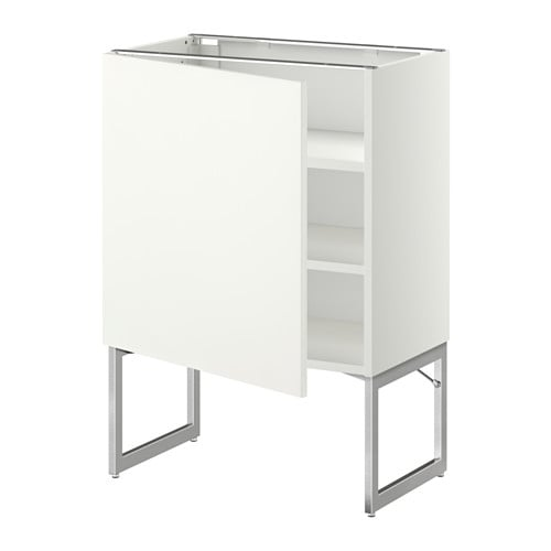 Metod armario bajo cocina con baldas blanco h ggeby - Ikea baldas cocina ...