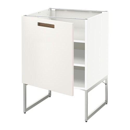 Metod armario bajo cocina con baldas blanco m rsta for Ikea baldas cocina