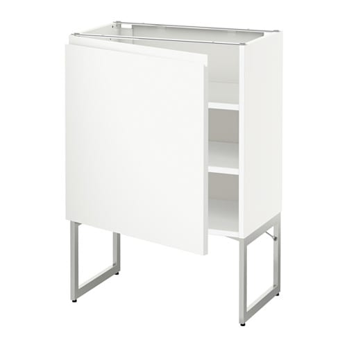 Metod armario bajo cocina con baldas blanco voxtorp - Armario con baldas ...