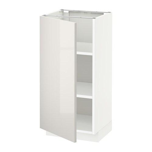 Metod armario bajo cocina con baldas ringhult alto - Ikea baldas cocina ...