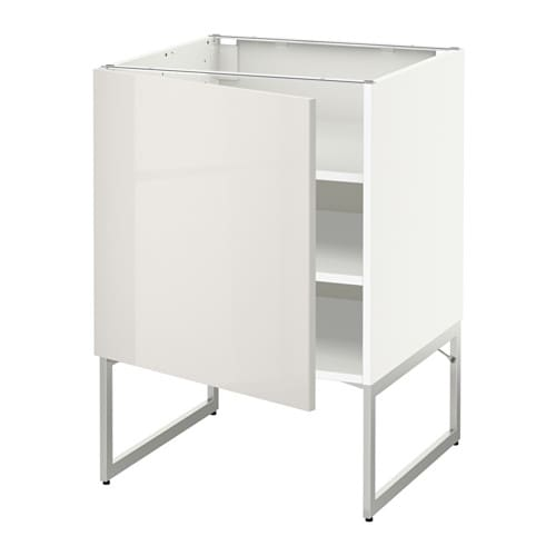 Metod armario bajo cocina con baldas blanco ringhult - Cocina armario ikea ...