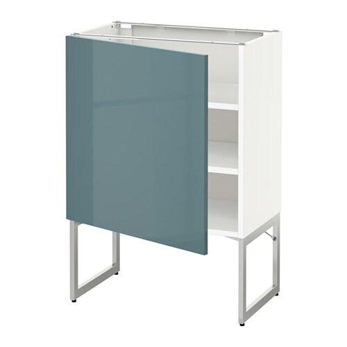 Metod armario bajo cocina con baldas blanco kallarp - Ikea baldas cocina ...