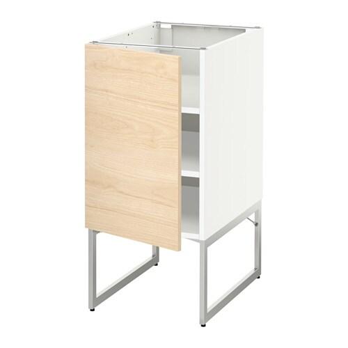 Metod armario bajo cocina con baldas blanco askersund - Cocina armario ikea ...