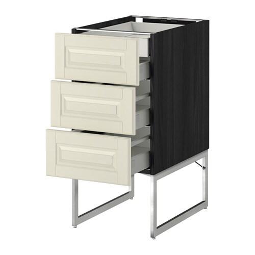 Metod armario bajo cocina con 4 cajones efecto madera - Ikea cajones cocina ...