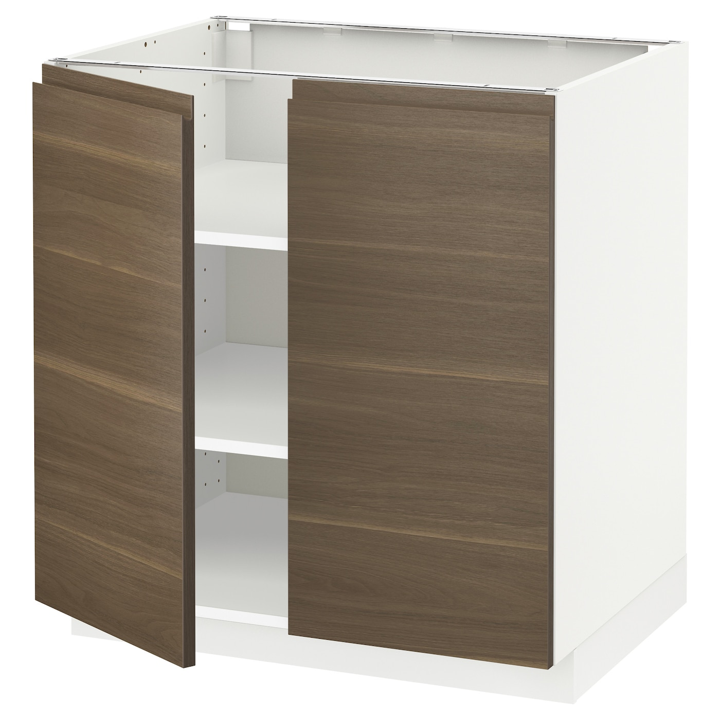 Metod armario bajo cocina puertas baldas blanco voxtorp - Ikea baldas cocina ...