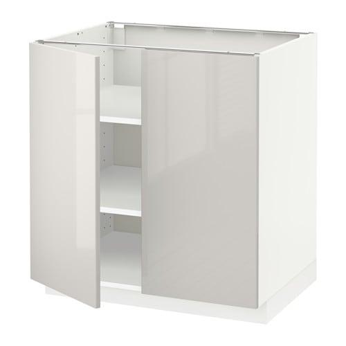 Metod armario bajo cocina puertas baldas ringhult alto for Ikea baldas cocina