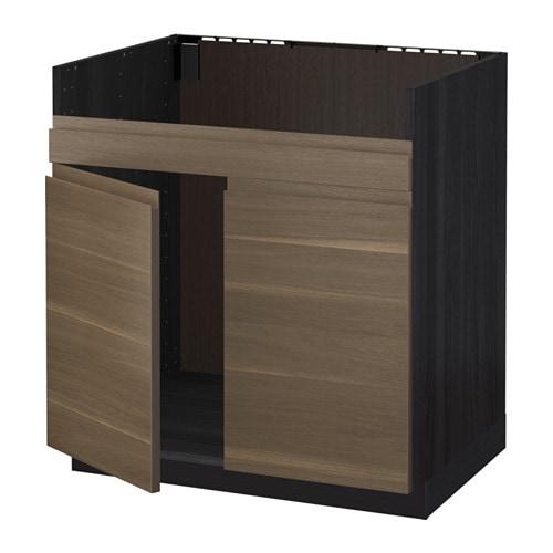 Metod armario bajo p fregadero domsj 2s efecto madera for Organizador bajo fregadero ikea