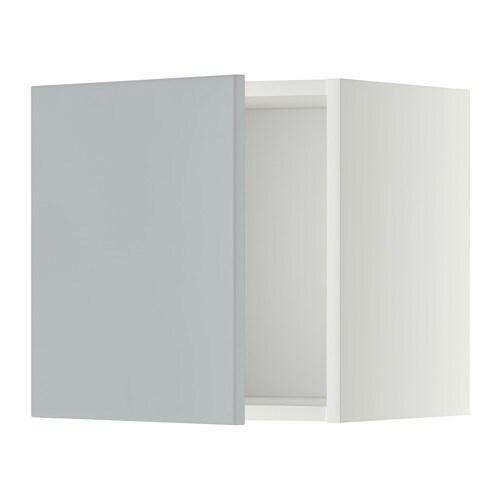 Metod Armario De Pared Blanco Veddinge Gris 40x40 Cm Ikea