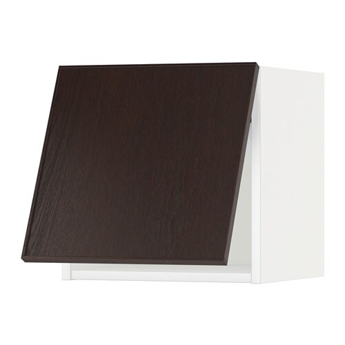 METOD Armario de pared cocina abatible - Veddinge blanco, 80x40 cm ...