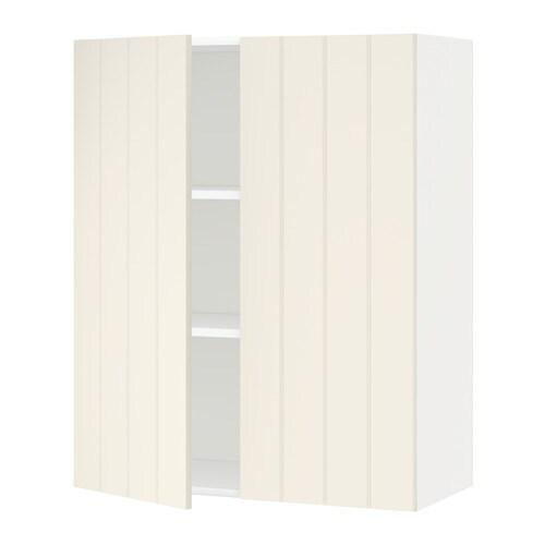 Metod armario de pared cocina con baldas blanco hittarp - Cultivo interior ikea ...