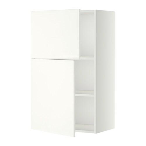 Metod armario de pared cocina con baldas h ggeby blanco ikea - Armarios de cocina ikea ...