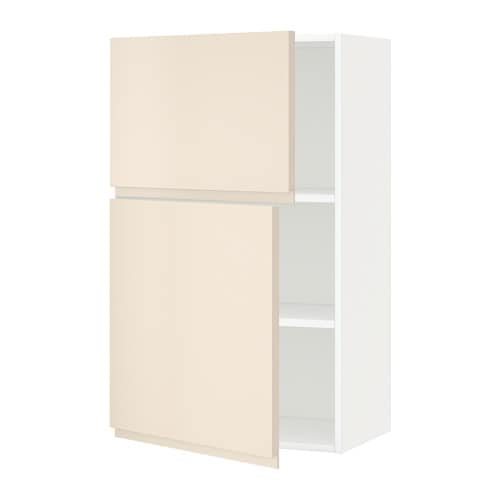 Metod armario de pared cocina con baldas voxtorp beige - Armario con baldas ...