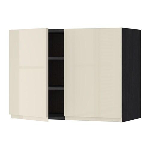 Armario Pared Cocina Ikea : Metod armario de pared cocina con baldas efecto madera