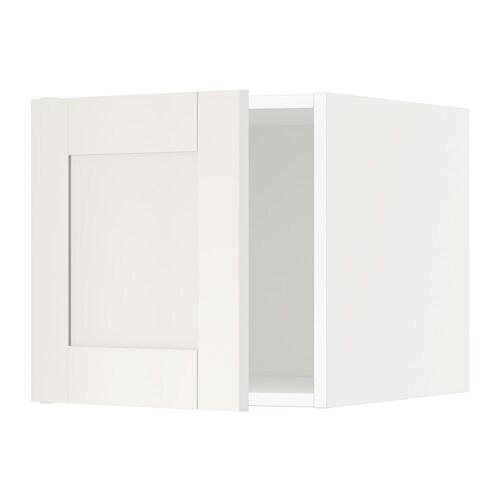 Metod armario de pared cocina con puerta blanco s vedal - Cocina armario ikea ...