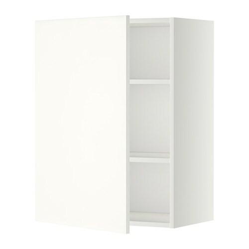 Metod armario de pared con baldas blanco h ggeby blanco - Armario con baldas ...