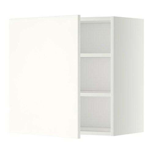 Metod armario de pared con baldas blanco h ggeby blanco - Baldas armario ikea ...