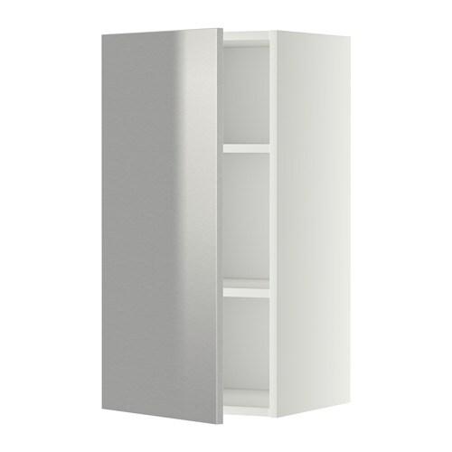 Metod armario de pared con baldas blanco grevsta ac - Armario con baldas ...