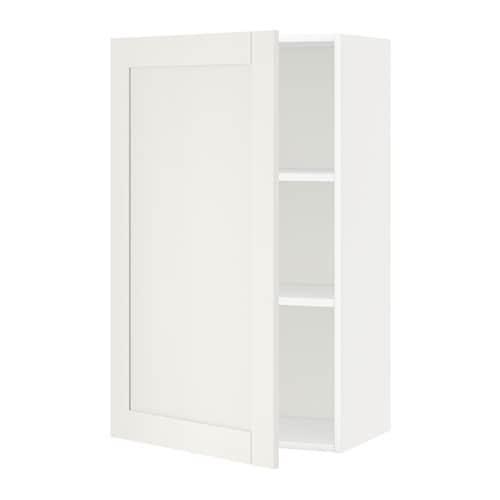 Metod armario de pared con baldas blanco s vedal blanco - Baldas de pared ...