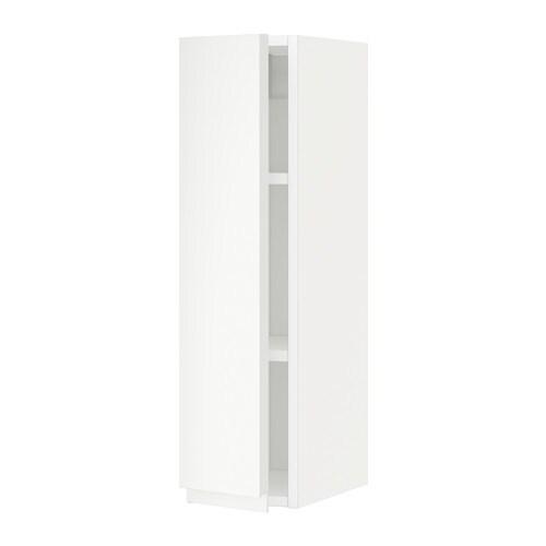 Metod armario de pared con baldas voxtorp blanco 20x80 - Armario con baldas ...