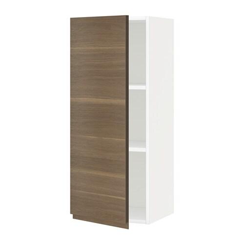 Metod armario de pared con baldas blanco voxtorp efecto - Armario con baldas ...