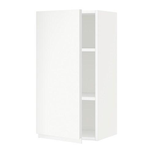 Metod armario de pared con baldas blanco voxtorp blanco - Armario con baldas ...