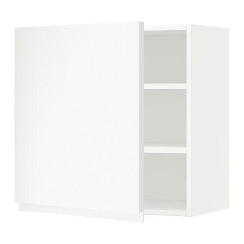 Metod armario de pared con baldas voxtorp blanco 60x60 - Armario con baldas ...