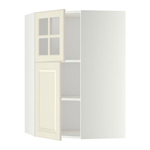 Metod armario de pared esquina con baldas blanco bodbyn - Armarios de esquina ...