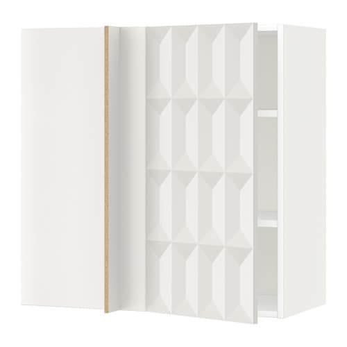 Metod armario de pared esquina con baldas blanco - Baldas de pared ...