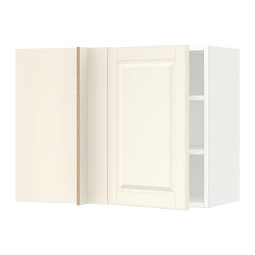 Metod armario de pared esquina con baldas blanco bodbyn - Armario de esquina ...