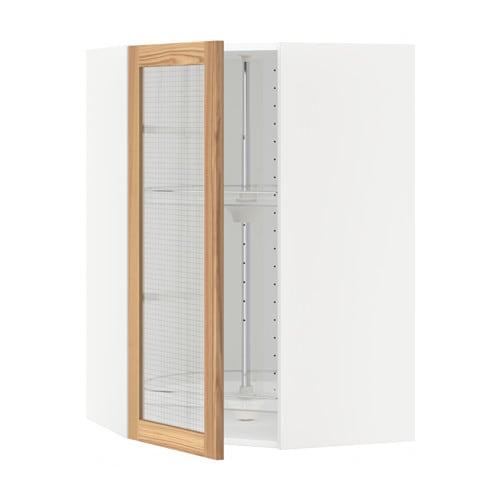 Metod armario de pared esquina giratorio blanco torhamn - Armarios de esquina ikea ...