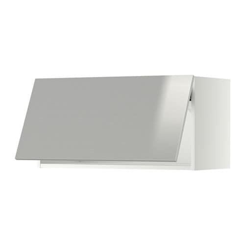 Artesanato Luminaria Madeira ~ METOD Armario de pared horizontal blanco, Grevsta ac inox, 80×40 cm IKEA