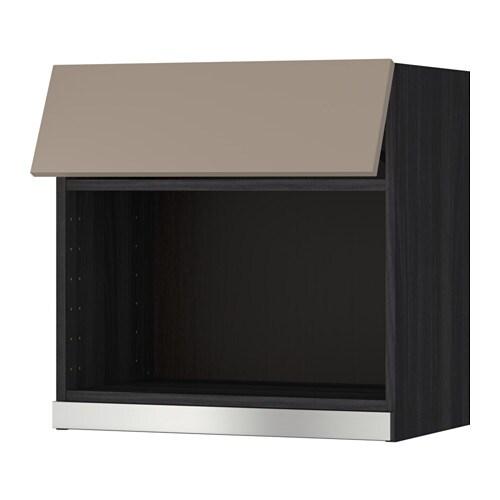 Metod armario de pared para microondas efecto madera - Armario para microondas ...