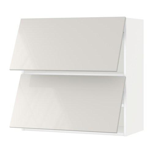 metod armario de pared puertas abatibles blanco