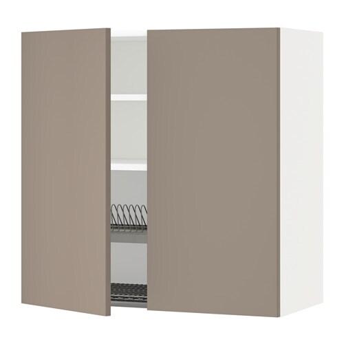 Metod armario pared escurreplatos puert blanco ubbalt - Escurreplatos de pared ...