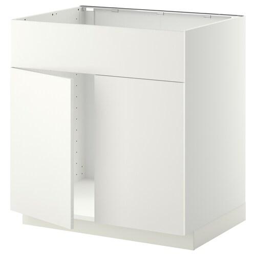 METOD abjfreg2pt/frt blanco/Häggeby blanco 80.0 cm 61.6 cm 88.0 cm 60.0 cm 80.0 cm