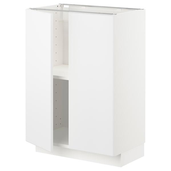 METOD abj+bld/2pt blanco/Kungsbacka blanco mate 60.0 cm 39.2 cm 88.0 cm 37.0 cm 80.0 cm