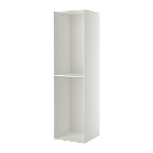 metod estructura armario alto blanco 60x60x220 cm ikea. Black Bedroom Furniture Sets. Home Design Ideas