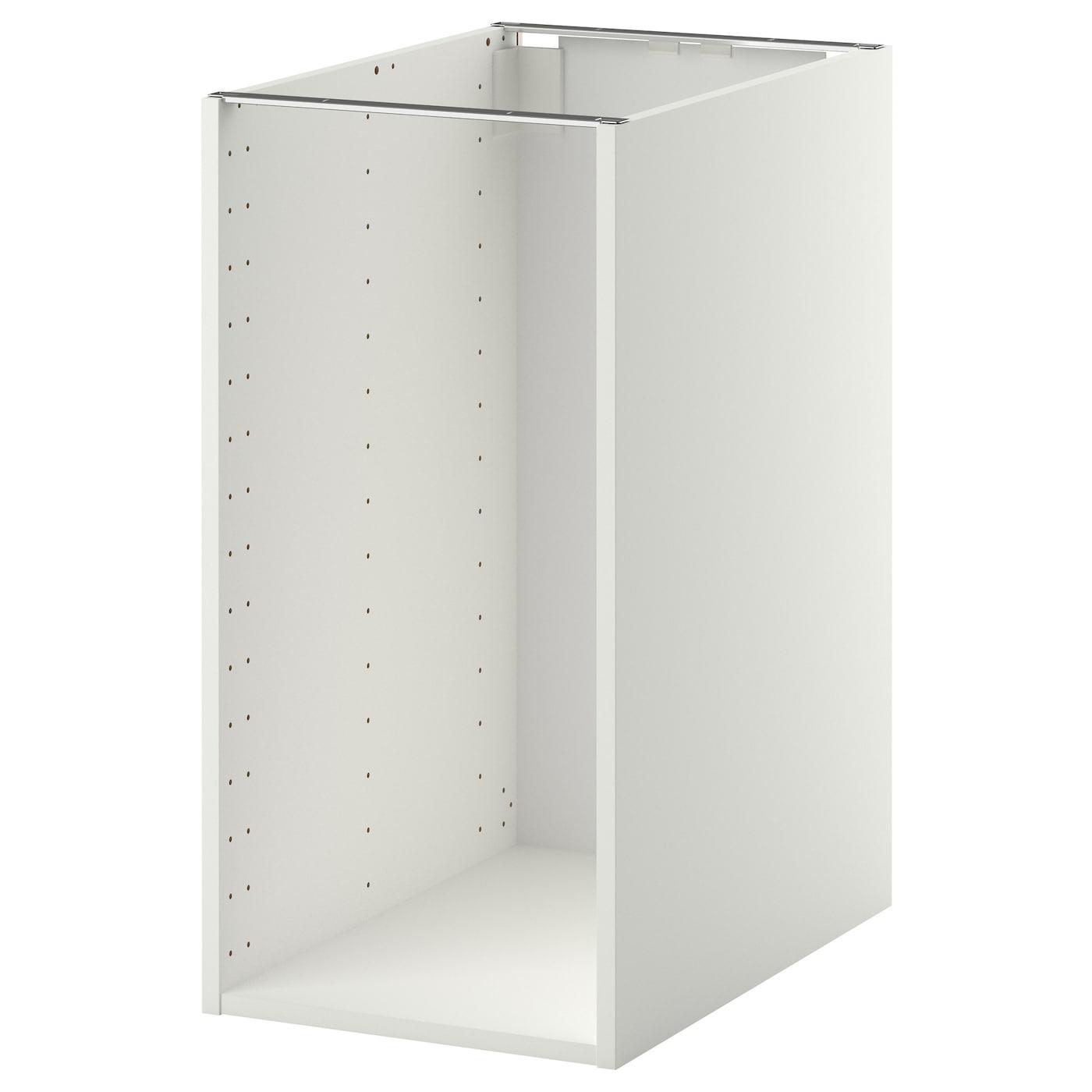 metod estructura armario bajo blanco 40 x 60 x 80 cm ikea