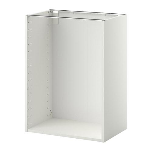 Metod estructura armario bajo blanco 60x37x80 cm ikea - Estructuras armarios ikea ...