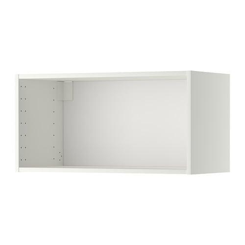 Metod estructura armario de pared blanco 80x37x40 cm ikea - Estructuras armarios ikea ...