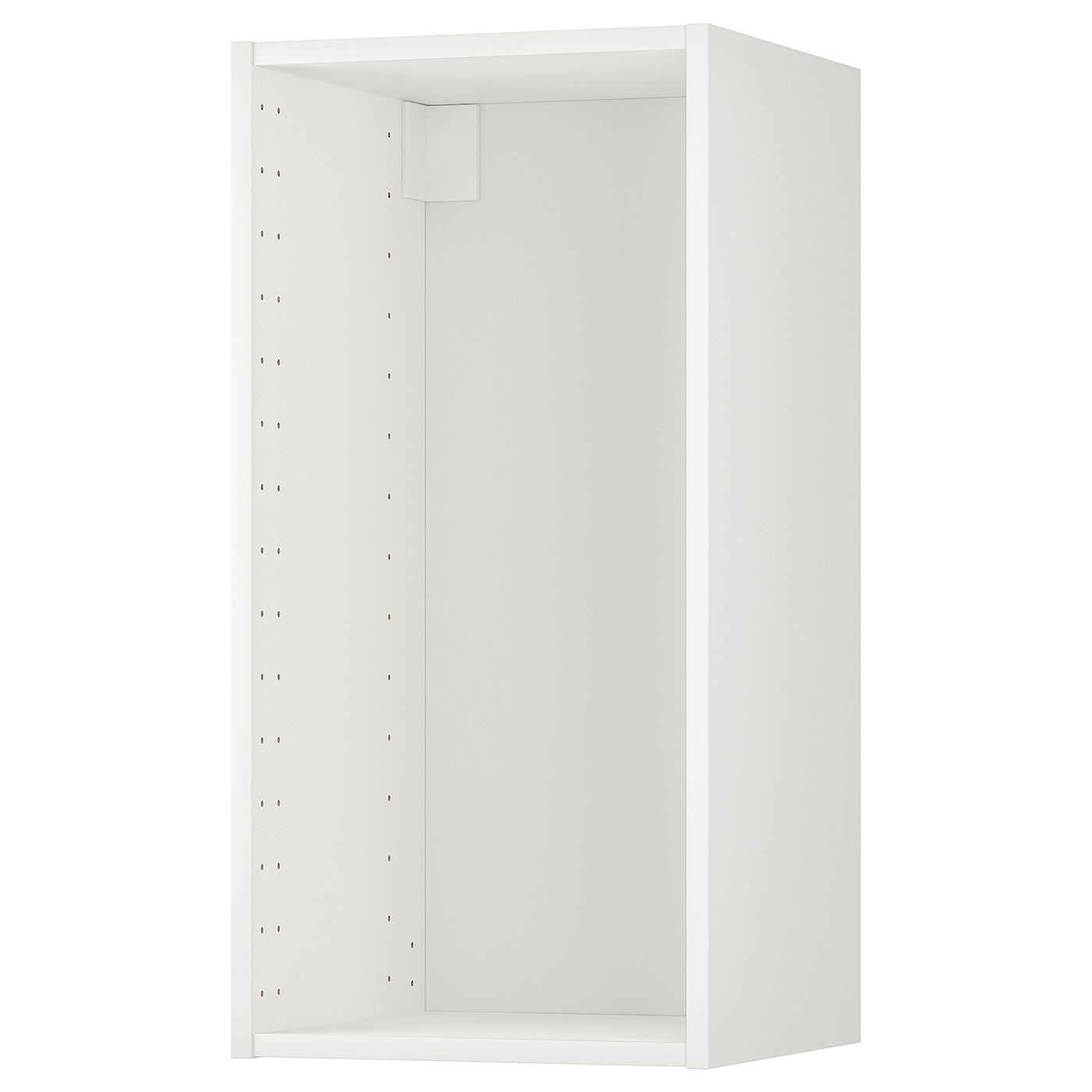 METOD Estructura armario de pared blanco 40x37x80 cm