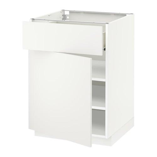 Metod f rvara armario bajo cocina puerta y caj n for Ikea muebles cocina bajos