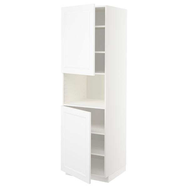 METOD aamicro+2pt/bld blanco/Axstad blanco mate 60.0 cm 61.9 cm 208.0 cm 60.0 cm 200.0 cm