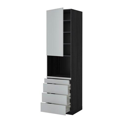 Metod maximera aa micro efecto madera negro veddinge for Amortiguador armario cocina