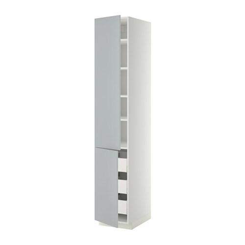 Metod maximera aa 2p 3c blanco veddinge gris for Amortiguador armario cocina